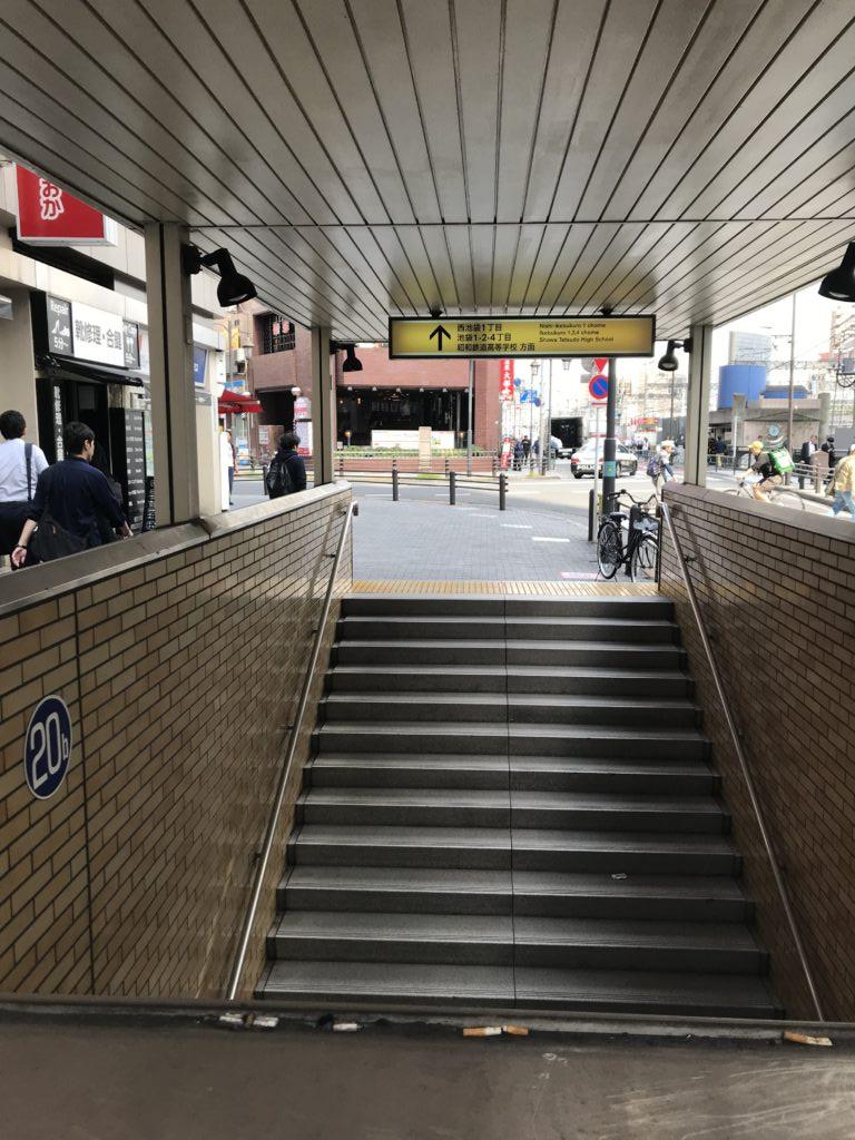 東武東上線池袋北口画像