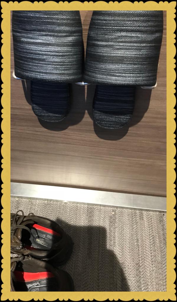 ダイス 北口店 個室靴置き場 常設スリッパ画像
