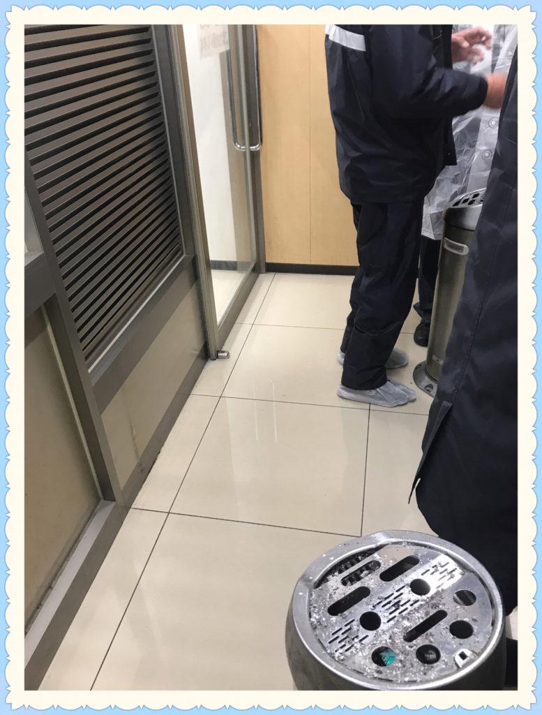 セブンイレブン神谷町駅東口店内 喫煙所画像3