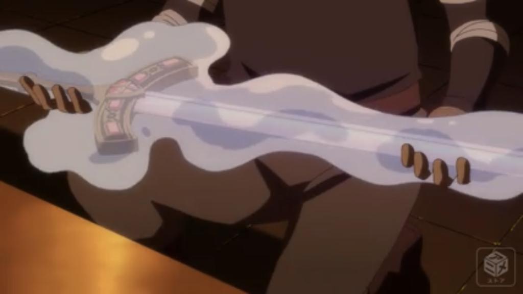 リムル 剣を捕食画像