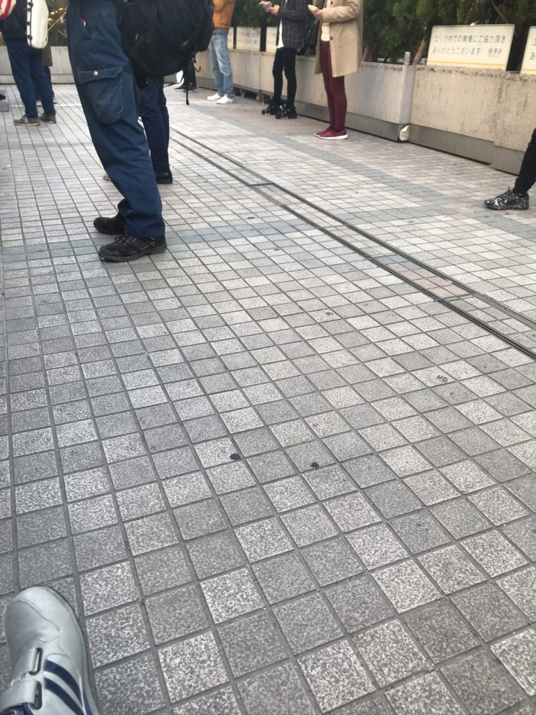 田町駅 三田口 指定喫煙所画像その1