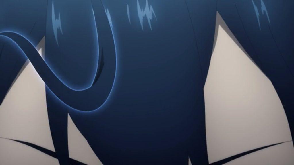 キリトの前髪が右を向く画像