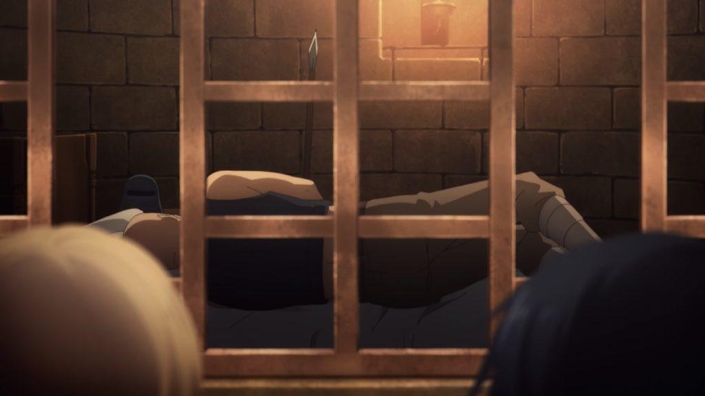 セントラル・カセドラル牢屋番人 眠っている画像