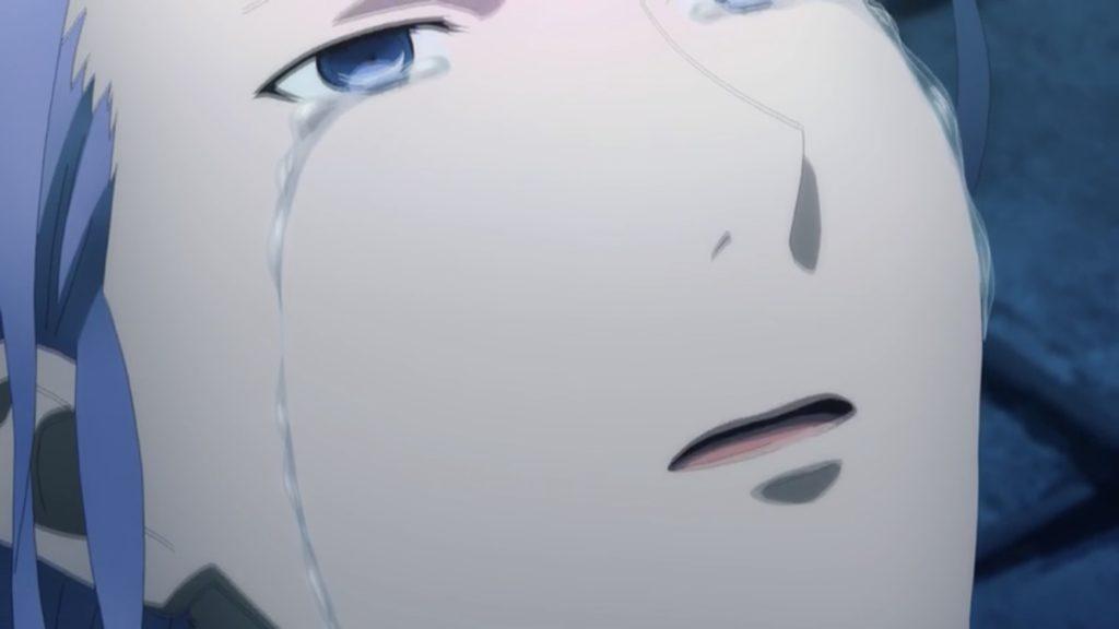 エルドリエが涙を流す画像