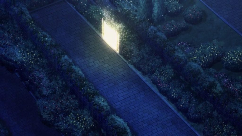 カーディナルが作った扉が消えていく画像