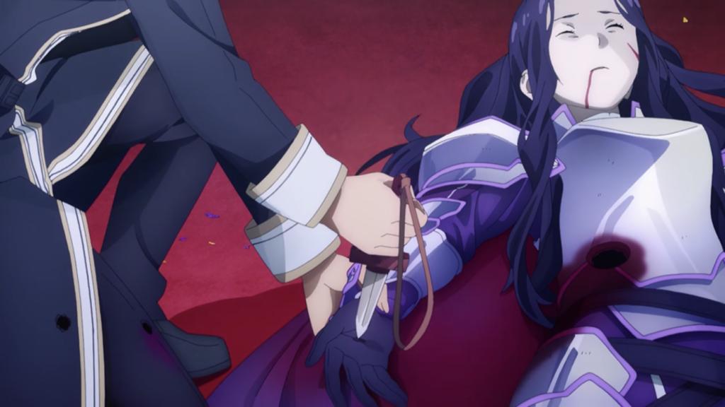 ファナティオにカーディナルの短剣を突き刺す画像