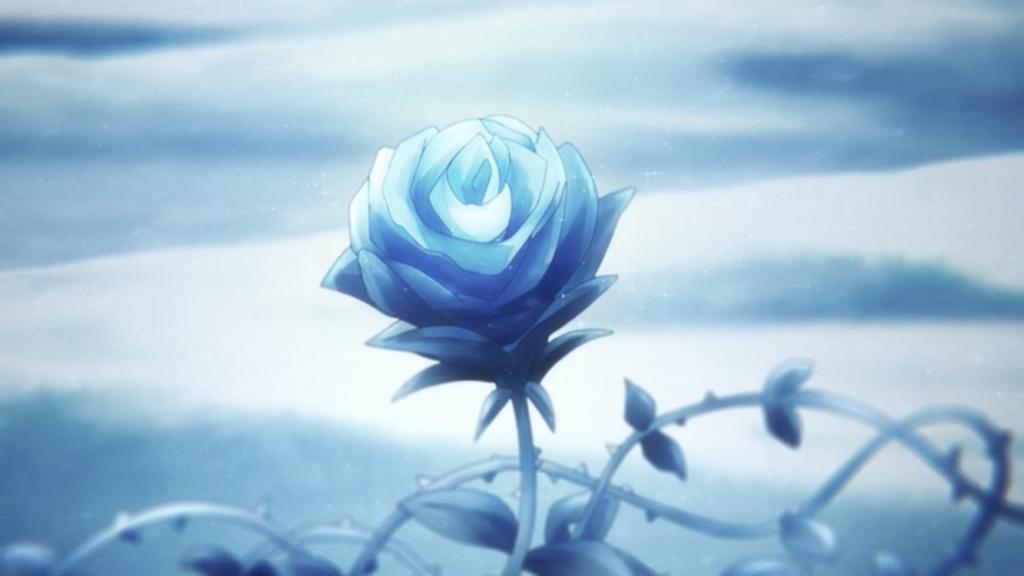 氷薔薇の発現画像