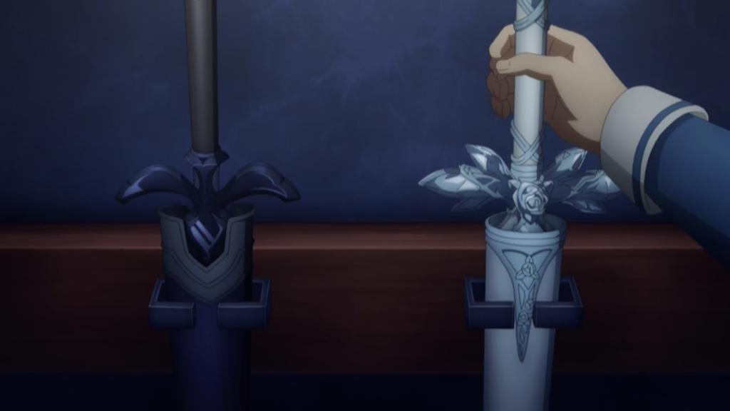 キリトとユージオの愛剣の画像