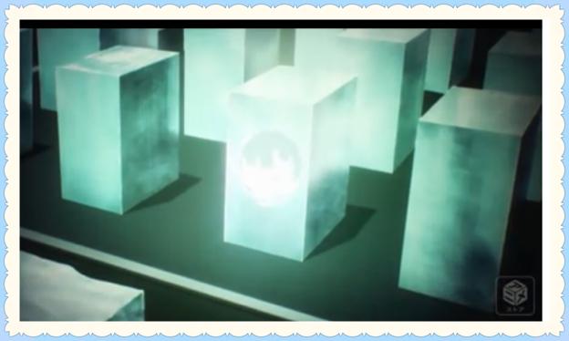深雪の陣地の氷柱に穴が空く画像