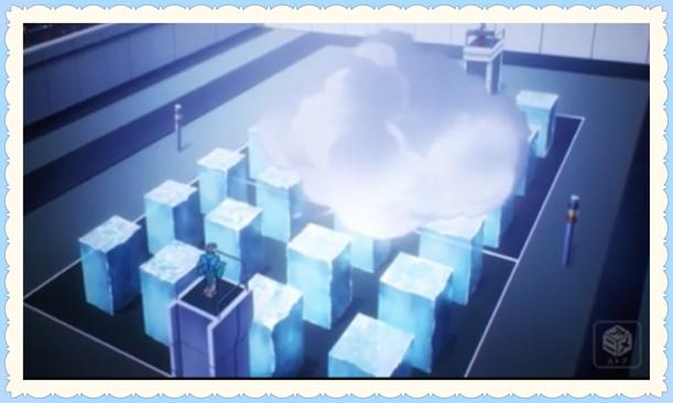 深雪のニブルヘイム魔法発動画像