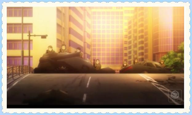 敵側大亜連合の戦車の画像